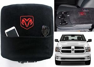 Custom Fit Black Center Console Cover For 2002 2017 Dodge Ram New Free Shipping
