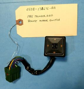 1985 Thunderbird Remote Mirror Switch