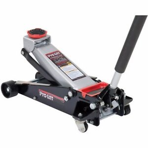 Floor Jack With Rapid Pump Lift Heavy Duty Steel 3 5 Ton Garage Shop Suv Car