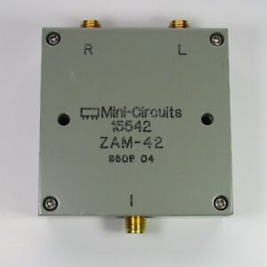 1pc Used Good Mini circuits Zam 42 1 5 4 2ghz Sma Frequency Mixer