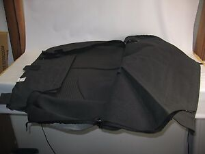 New Oem 2012 2013 Kia Soul Rear Seat Back Cover Left Hand Side Covering Cloth