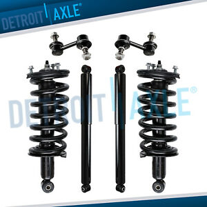 For Nissan Titan Struts Assembly Shock Absorbers Sway Bars Front Rear 4x4