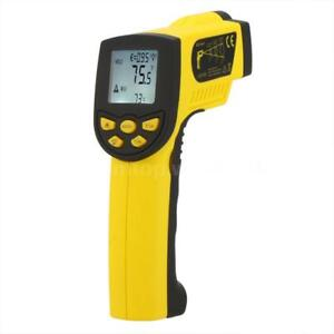 50 1300 Non contact Lcd Digital Infrared Ir Thermometer Temperature Gun K4f3