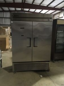 True T 49f Used 2 Door Stainless Reach In Freezer Used Commercial