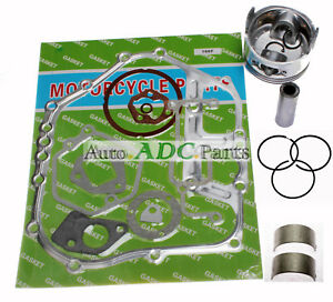 Piston Gaskets Bearing For Yanmar Diesel Engine Generator L100 186f 10hp