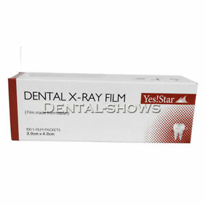 5 Boxes Dental X ray Film Size 3cm X 4cm For Reader Scanner Machine 100 Pcs box