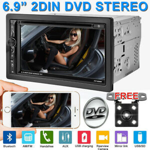 Touch Screen Bluetooth Car Radio Stereo Rear Backup Camera For Chevrolet Gmc