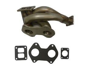 Obx Stainless Steel Turbo Header Manifold For 1993 Mazda Rx 7 13b