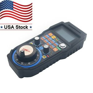 4axis Cnc Mach3 Wireless Electronic Handwheel Manual Controller Handle Mpg Us