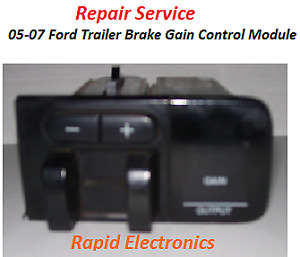05 07 Ford F250 F350 F450 F550 Trailer Brake Gain Control Module Repair Service