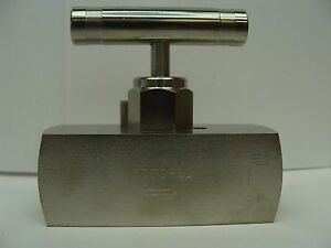Nv ss 1 2 gs 180 fxf Ss Full Needle Valve 1 2 Npt Fxf Connection 6 000 Psi