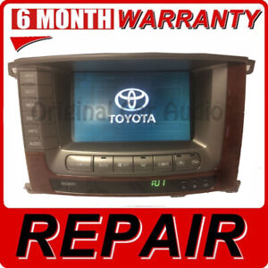 Repair 2004 2005 2006 2007 Toyota Land Cruiser Oem Pioneer Navigation Display