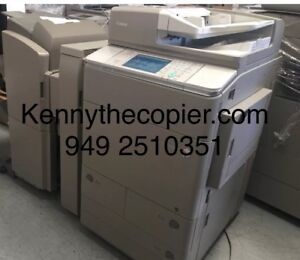 Canon copier color irc Advance 7065 scanner 13x19 print pdf holepunch Finisher