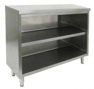 All Stainless Steel 14 x48 Commercial Dish Cabinet Storage Nsf Approved