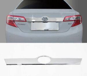 Chrome Trunk Garnish Molding For 2012 2014 Toyota Camry