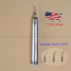 Usa 2h Nsk Style Dental Ultrasonic Air Scaler Handpiece Sonic Perio Hygienist