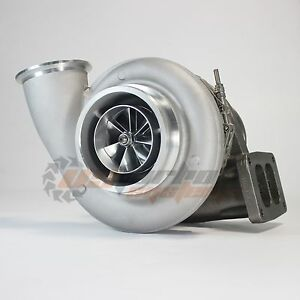 Upgraded Aftermarket S400 S475 Billet Comp Wheel Turbo T6 Twin Scroll 1 32a r