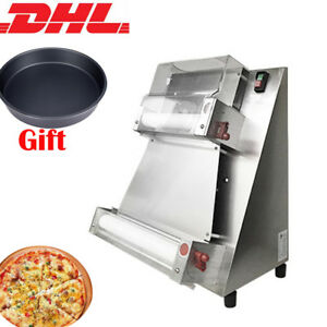 Dhl Automatic Pizza Bread Dough Roller Sheeter Pizza Making Machine pizza Dish