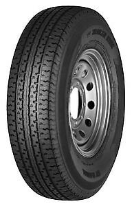 2 New St205 75r15 D Tl Trailer King Ii St Radial205 75 152057515 Tires No Rim