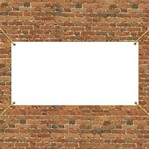 Vinyl Banner Blank 13 Oz Dispatch On Same Day With Grommets