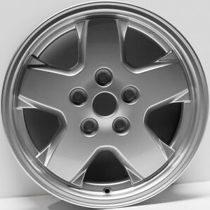 New Set Of 4 16 Replacement Wheels Fit Jeep Liberty 2002 2007 9038 Silver