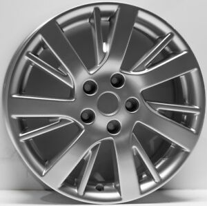 New 17 Replacement Wheel Fits 2013 2016 Nissan Sentra 62601 Silver