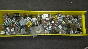 Assorted Test Equipment Relays 195 Pieces