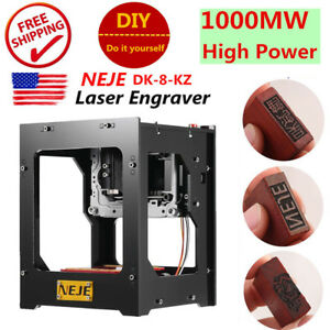 Neje Dk 8 kz Engraving Machine 1000mw Usb Diy Laser Carving Engraver Printer Us