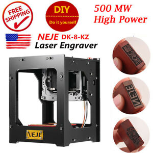 Neje Dk 8 Pro5 500mw High Power Usb Laser Engraver Diy Printer Engraving Machine