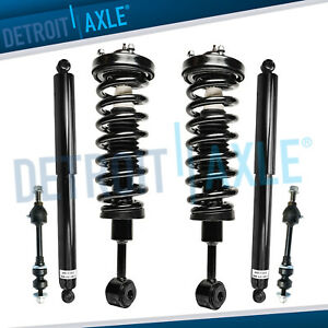 2005 2008 Ford F 150 Mark Lt 4wd Front Strut Sway Bar Link Set Rear Shocks