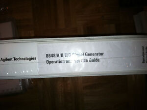 Hp 8648 Siginal Generator Manual New