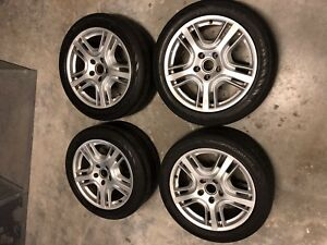 4 Used Staggered 2011 Porsche Panamera 19 Oem 285 40r19 103v Rims Wheels Tire