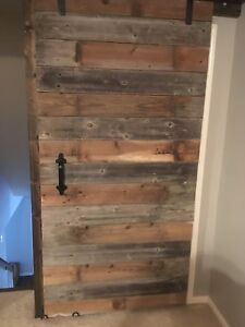 Made To Order To Your Specs Barn Door Made Of Reclaimed Wood Wow Hardware Inc
