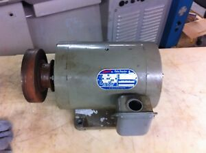 Doerr Electric Corp 2 speed 3 ph Ac Motor For Hardinge Mill Or Lathe Model 73377