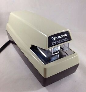 Panasonic Automatic Electric Stapler As 300 Vintage Heavy Duty