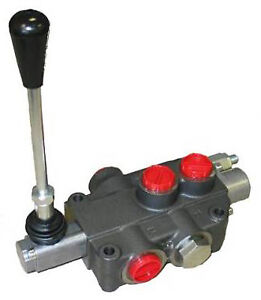 Hydraulic Directional Control Valve 3 way 2 spool 21 Gpm
