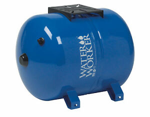Pressurized Well Tank Horizontal Pre charged 14 gals