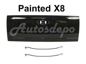 Painted X8 Black Tailgate Cable Set For 2002 2008 Dodge Ram Pickup