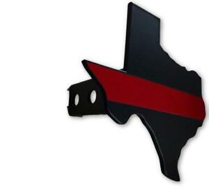 Texas Red Line Trailer Hitch Cover Free Shipping Made In Usa