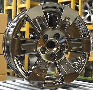 18 Honda Ridgeline 2017 2018 2019 Factory Oem Rim Wheel 64105 Pvd Chrome Set