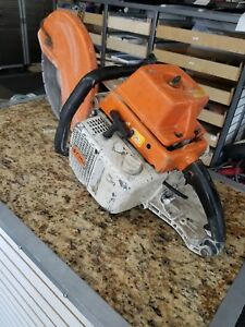 Tested Pre owned Stihl Ts760 14 Concrete Cut off Saw Free Shipping