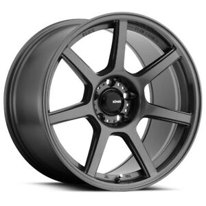 Konig Ultraform Rim 19x10 5 5x4 5 Offset 40 Gloss Graphite quantity Of 4