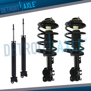 For 2002 2003 2004 2005 2006 Nissan Altima 3 5l 4pc Front Strut
