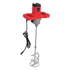 1600w Electric Plaster Cement Adhesive Render Paint Drywall Mortar Mixer Tool