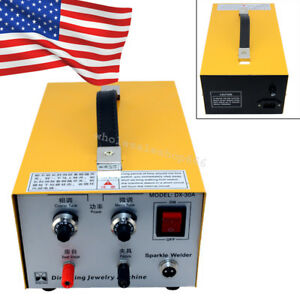Pulse Sparkle Spot Welder 110v Jewelry Welding Machine Gold Silver Platinum New