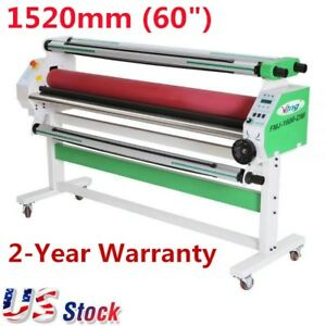 Usa 60 Economical Full auto Cold Laminator Wide Format Low Temp Laminator