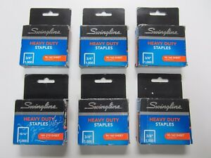 Lot Of 5x New Swingline Heavy Duty 3 4 1000 Staples 35319 1x 1000 15 16 Bonus