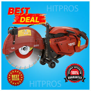 Hilti Dsh 700 14 Gas Cut Off Saw Brand New Free 3 Blades Fast Shipping