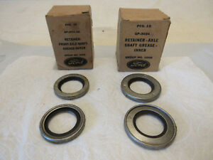 Gpw Jeep Cj2a Cj3a M38 Willys Mb Front Axle Oil Seals Inner Outer F Nos