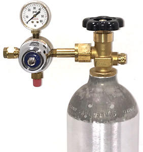 Uniweld Single Gauge 5 50 Psi Delivery Pressure Beverage Regulator Co2 Service